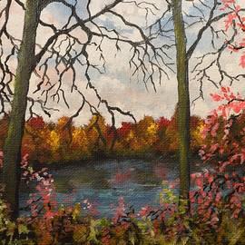 Kimberly Benedict - Autumn Lake View