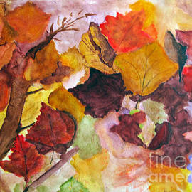 Sandy McIntire - Autumn Leaves in the Wind