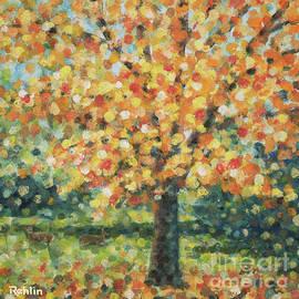 Jim Rehlin - Autumn Maple / Deer