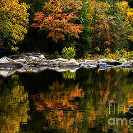 Thomas R Fletcher - Autumn Middle Fork River