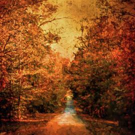 Jai Johnson - Autumn on Calvary Road Landscape Art