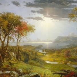 Jasper Francis Cropsey - Autumn On The Hudson River