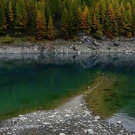 Andrey Bo - Autumn on the lake