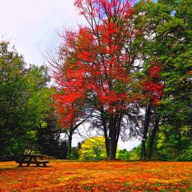 Lilia D - Autumn Park Painterly