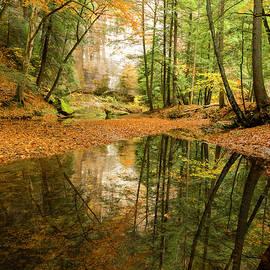 Matt Shiffler - Autumn Reflections at Hocking Hills