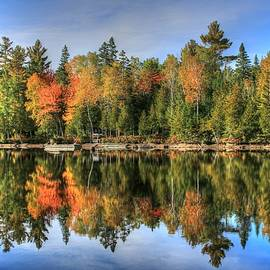 Shelley Neff - Autumn Reflections of Maine