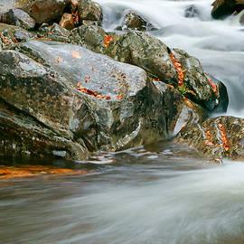 Clarence Holmes - Autumn River Cascades VI