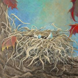 Kimberly Benedict - Autumn Robin Nest