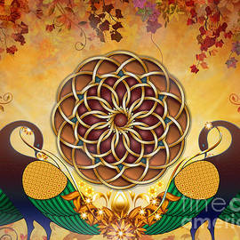 Bedros Awak - Autumn Serenade - Mandala Of The Two Peacocks