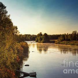 Jukka Heinovirta - Autumn Sunrise By The River