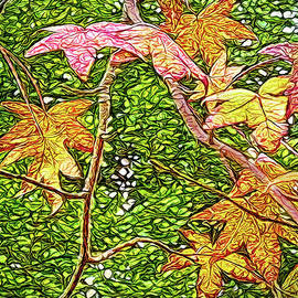 Joel Bruce Wallach - Autumn Sycamore Afternoon