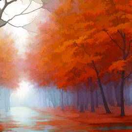 Neil Hemsley - Autumn Trees