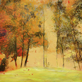 Nina Bradica - Autumn Trees