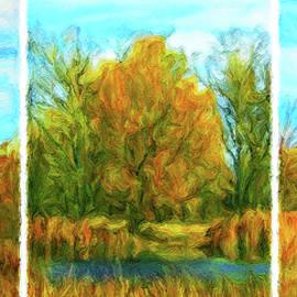 Joel Bruce Wallach - Autumn Trio - Triptych
