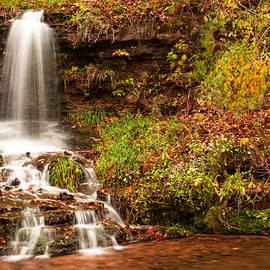 Gregory Ballos - Autumn Waterfall