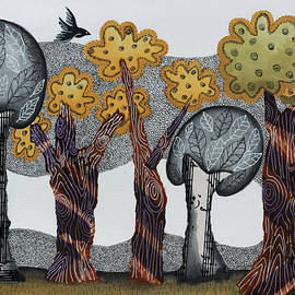 Graciela Bello - Autumnal grove