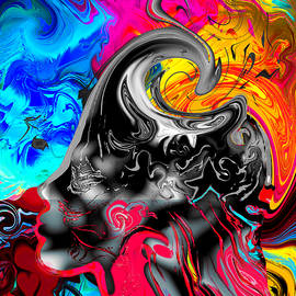 Abstract Angel Artist Stephen K - Awakening to Life