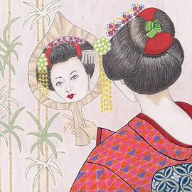 Jayne Somogy - Ayano -- Portrait of Japanese Geisha Girl