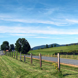 Geoffrey Coelho - Ayrhill Farm Panoramic - The Berkshires