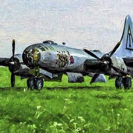 Tommy Anderson - B-29 Jacks Hack - Oil