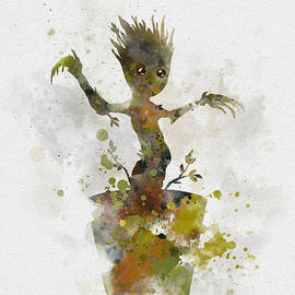 Baby Groot - Rebecca Jenkins