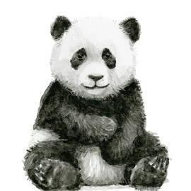 Olga Shvartsur - Baby Panda Watercolor