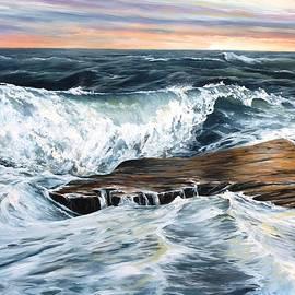 Eileen Patten Oliver - Back Shore Sunrise