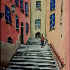 Irving Starr - Back Street In France Bordered