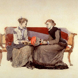 Backgammon - Winslow Homer