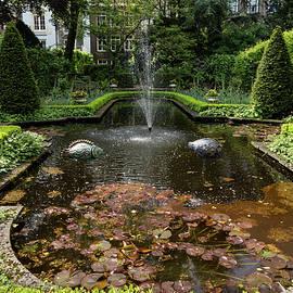 Georgia Mizuleva - Backyard Oasis Symmetry - Gracious Garden Fountain
