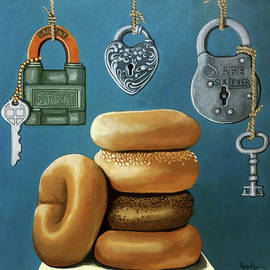 Linda Apple - Bagels and Locks