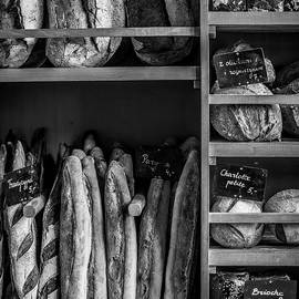 Justin Woodhouse - Baked Bread Number Two - Black and White