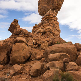 Brian Harig - Balanced Rock 3 - Arches National Park - Moab Utah