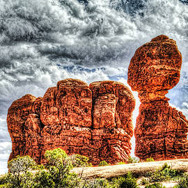 Roger Passman - Balanced Rock at Arches National Park