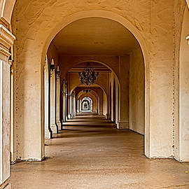 Bill Gallagher - Balboa Park Walkway