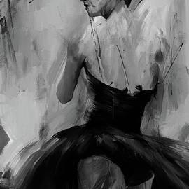 Gull G - Ballet dance pose 01