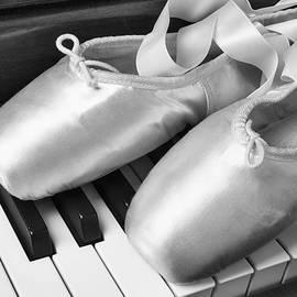 Ballet Slipers In Black And White - Garry Gay