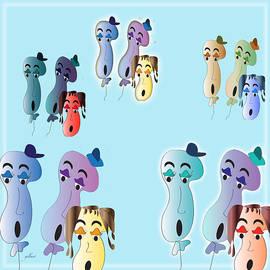 Iris Gelbart - Balloon Heads