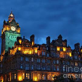 Judi Bagwell - Balmoral Hotel, Edinburgh
