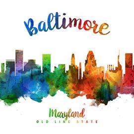 Baltimore Maryland 25 - Aged Pixel