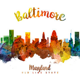 Baltimore Maryland 26 - Aged Pixel