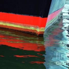 Water Born Studios - Banded Orange Bow