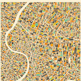 BANGKOK MAP 2 - Jazzberry Blue