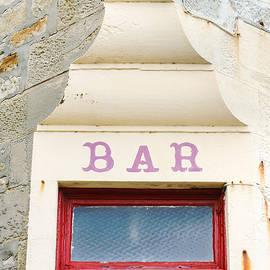 Bar sign - Tom Gowanlock