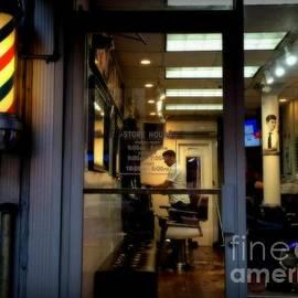 Miriam Danar - Barber Shop at Closing Time