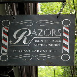 Arlane Crump - Barber Shop Sign