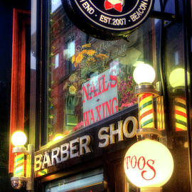 Joann Vitali - Barber Shop - Tattoo Shop - North End - Boston