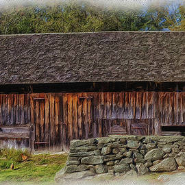 EricaMaxine Price - Barn And Stone Wall