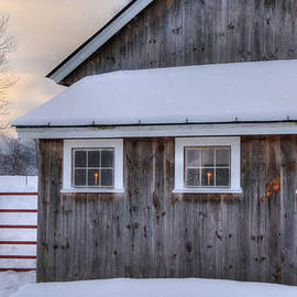 Joann Vitali - Barn in Snow - White Mountains, New Hampshire