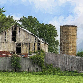 William Sturgell - Barn on Pisgah Road Artistic